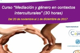 Mediation and Gender in intercultural contexts