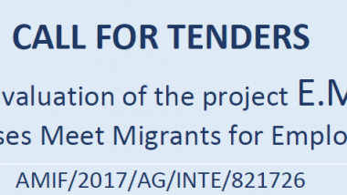 CALL FOR TENDERS External Evaluation of the project E.MM.E.: Enterprises Meet Migrants for Employment AMIF/2017/AG/INTE/821726