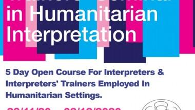 TRAINER´S SEMINAR IN HUMANITARIAN INTERPRETATION