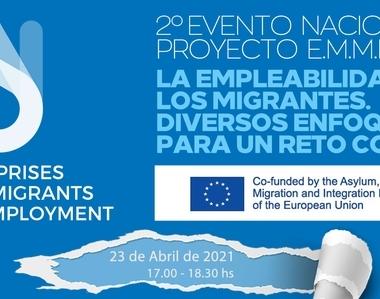 2º WORKSHOP del proyecto E.M.M.E: La empleabilidad de los migrantes. Diversos enfoques para un reto común