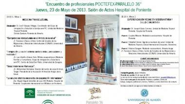 Encuentro sobre Medicina transcultural. Mediación Socio sanitaria