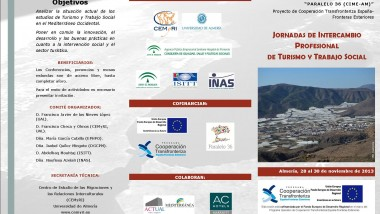 Jornadas de Intercambio profesional de Turismo y Trabajo Social