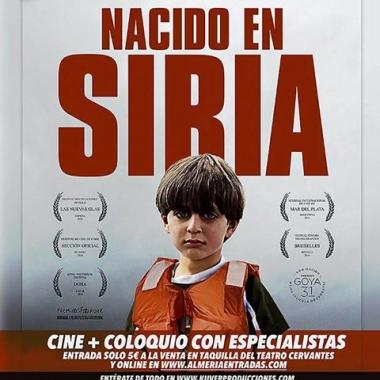 """EL CEMyRI, CIC BATÁ y el Teatro Cervantes te invitan a una Noche de Cine y Coloquio: """"Nacido en Siria"""""""