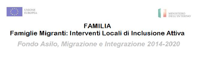 FAMILIA. Familias migrantes: Intervenciones Locales de Inclusión Activa