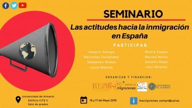 Seminario: Las actitudes hacia la inmigración en España