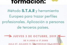 Taller de formación: Método S.T.A.R y herramienta europea para trazar perfiles profesionales