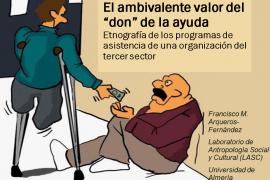 Francisco Arqueros presentó un trabajo etnográfico sobre los programas de asistencia en el tercer sector