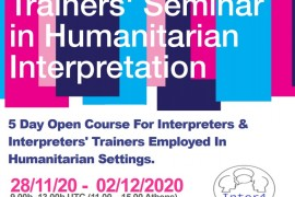 TRAINER´S SEMINAR IN HUMANITARIAN INTERPRETATION