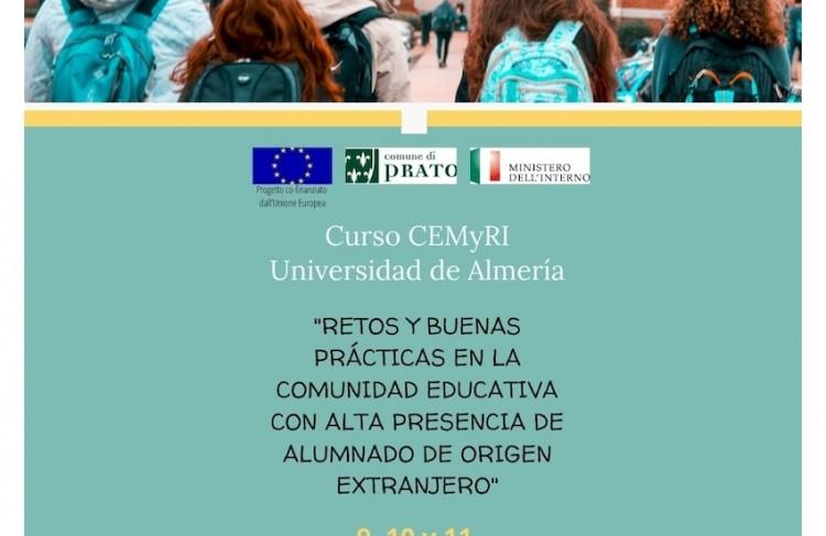 CURSO: RETOS Y BUENAS PRÁCTICAS EN LA COMUNIDAD EDUCATIVA CON ALTA PRESENCIA DE ALUMNADO DE ORIGEN EXTRANJERO