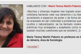 Entrevista a María Teresa Martín Palomo