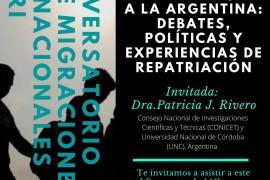 I CONVERSATORIO SOBRE MIGRACIONES INTERNACIONALES «El retorno de científicos/as a la Argentina: Debates, políticas y experiencias de repatriación»